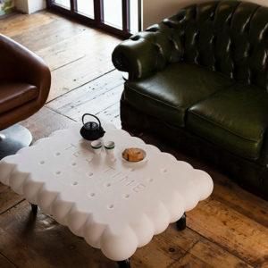 mesa forma de galleta