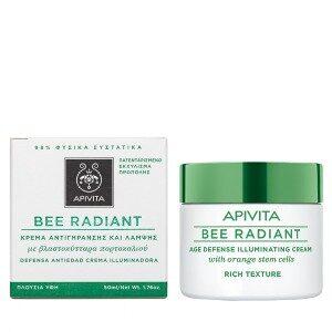 APIVITA BEE RADIANT CREMA RICA 50 ML