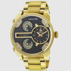 reloj huesca dorado