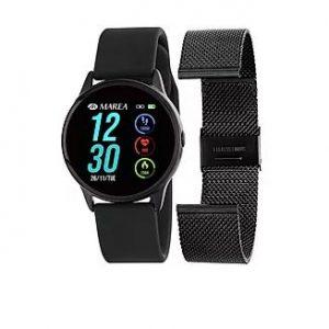 smartwatch marea negro huesca