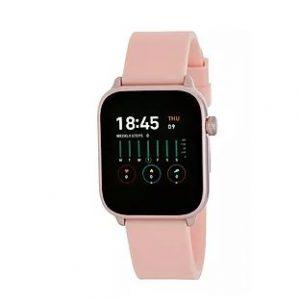 smartwatch marea cuadrado rosa huesca