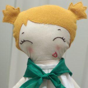 peñista huesca muñeca