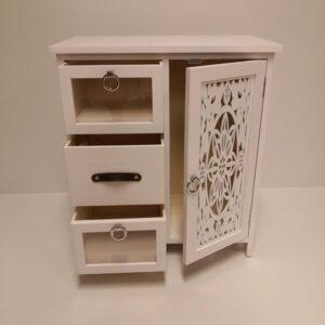 mueble blanco huesca