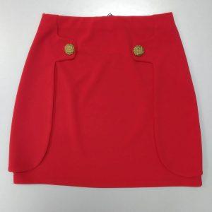 falda roja huesca