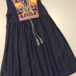 vestido azul huesca