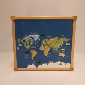 mesa infantil mapa mundi huesca