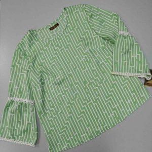 bluson huesca verde y blanco
