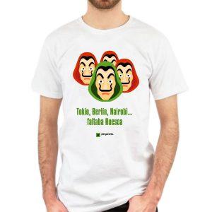 camiseta san lorenzo la casa de papel