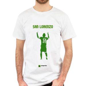 camiseta san lorenzo messi