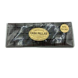 chocolate negro huesca