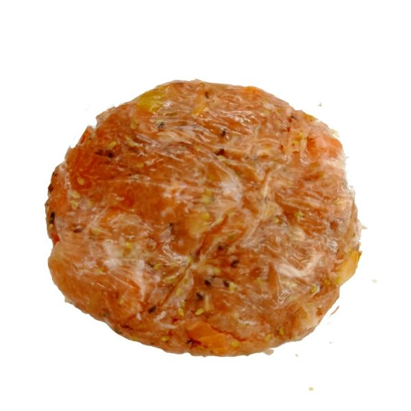 hamburguesa de pollo y salmon huesca
