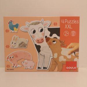 puzzle infantil animales huesca