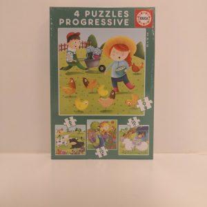 puzzle para niños huesca