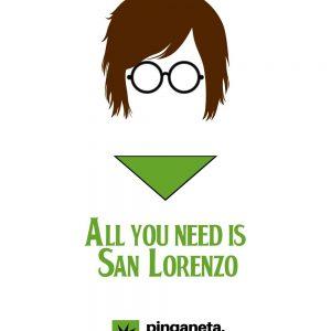 camiseta san lorenzo lennon