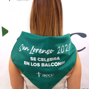 Pañoleta AECC Huesca