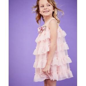 vestido niña verano huesca pan con chocolate rosa