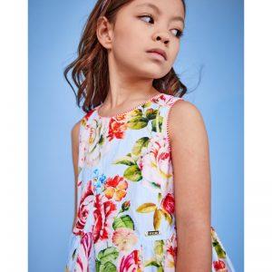 vestido huesca verano niña pan con choclate vestido flores