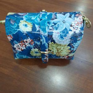 bolso azul huesca