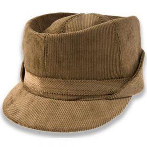 Gorra de pana raya fina unisex