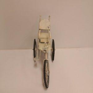 Bicicleta antigua de colección metálica