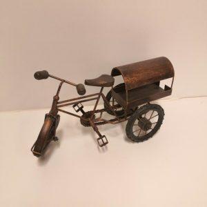 Bicicleta metálica de colección