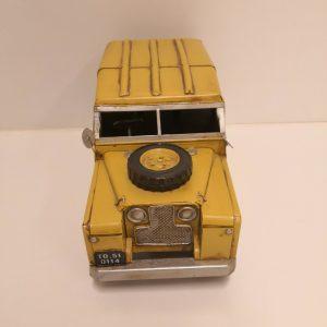 Furgoneta amarilla metálica de colección antigua