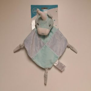 Peluche dou dou unicornio azul niños pequeños