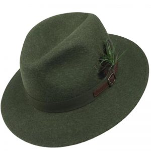 Sombrero ala ancha tirolés