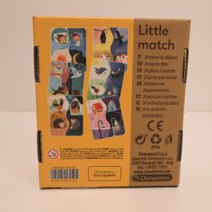 12 mini-puzzles, Little match