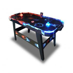 Air Hockey, Fuego VS Hielo con luces