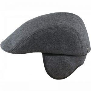Gorra de lana con orejeras para caballero