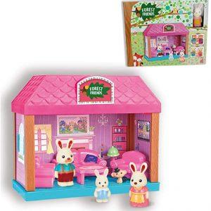 Reig Casa Planta baja con muebles y un conejito