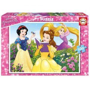 Puzzle Educa 100 piezas, Princesas Disney
