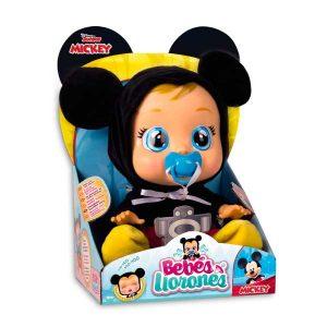Llega baby Mickey Mouse, el bebe llorón más adorable