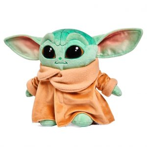 Peluche Baby Yoda Child Mandalorian Star Wars soft 25cm