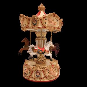 Precioso carrusel musical con movimiento, regalo ideal para Navidad o para bebés