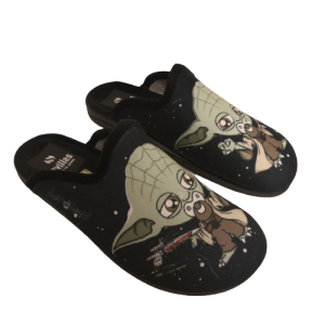 Zapatillas invierno Baby Yoda, The Mandalorian con chupete