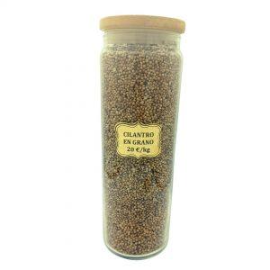 Cilantro en grano o coriandro