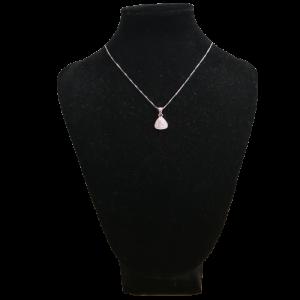 Colgante de plata, Triángulo, el mejor regalo para todos aquellos enamorados en San Valentín, aniversarios...