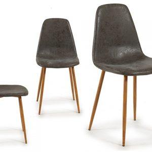 silla-cuero-sintetico-gris-oscuro