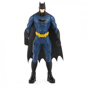 Figura básica Batman Bizak 15 cm, Batman Bat Tech Sdo, Batman, azul, gris, Robin