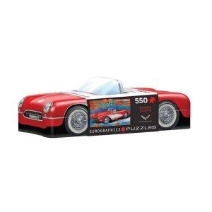 Puzzle lata 550 piezas Eurographics, Corvette Cruising