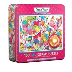 Puzzle lata Eurographics 1000 piezas, Cookie party, Fiesta de galletas