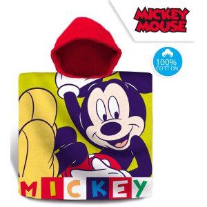 Poncho verano niño Mickey Mouse