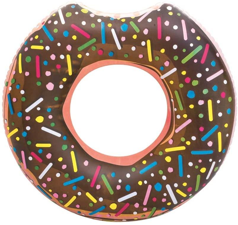 Flotador en forma de donut chocolate