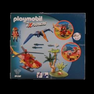 Helicóptero con Pterosaurio Playmobil