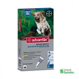 pipetas para perros más de 25 kg Advantix