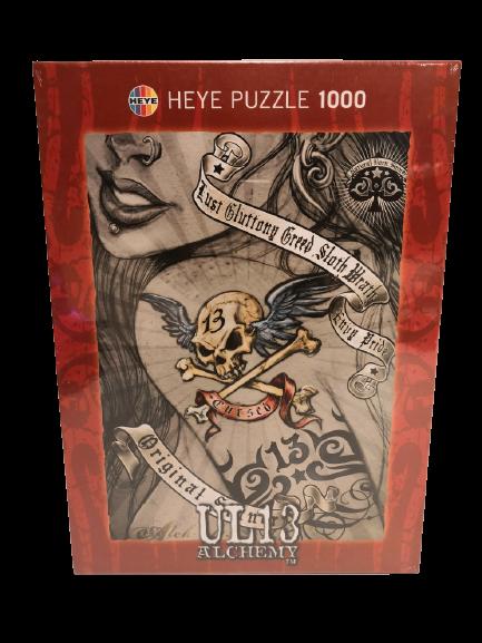 Puzzle Heye 1000 piezas, Alchemy