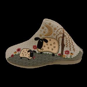Zapatillas tipo botin ovejas